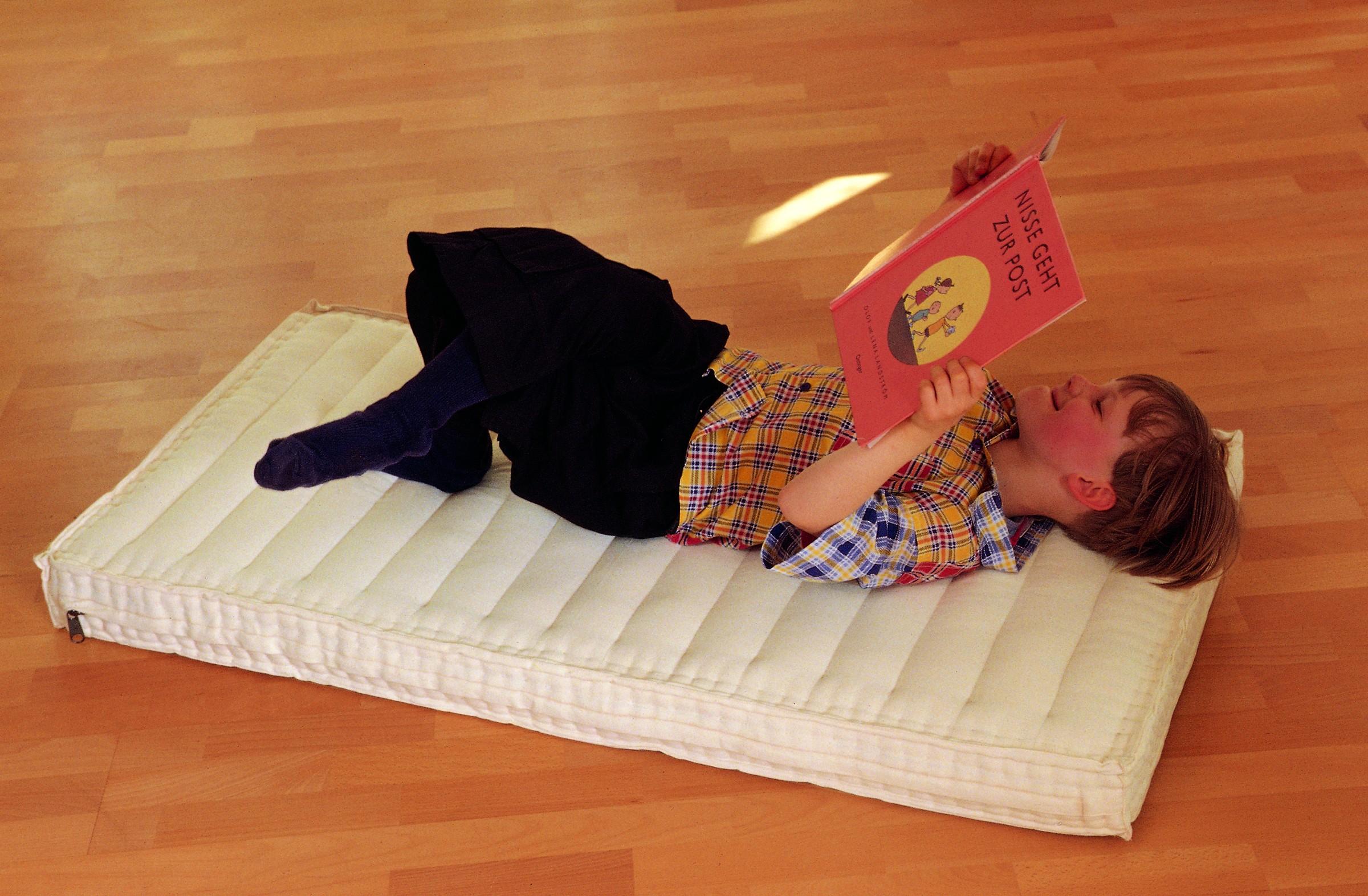 Zum Wohlfühlen: Kapok-Kindermatratze